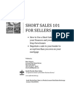 Short Sales 101 For Sellers Revised 033011