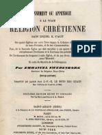 Em Swedenborg 1 Couronnement Ou Appendice a La Vraie Religion Chretienne 2 Invitation a La Nouvelle Eglise LeBoysDesGuays 1865