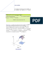 Gráfica de funciones de dos variables