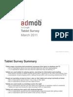 AdMob - Tablet Survey