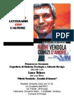 """Luca Telese a Rovigo il 19 aprile con """"Nichi Vendola"""