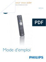 Philips TV remote SRP501 8