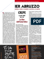 DOSSIER LIBERA AQUILA ABRUZZO CRIMINALITA' ORGANIZZATA