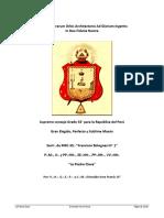 14° La Piedra Clave - V.·.H.·. Grimaldo Vera Frank, 14°