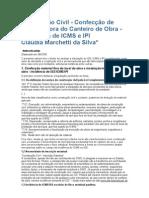 Construção Civil ICMS