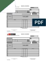 Formato Boleta de Notas