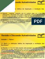 A.2 Introdução Bíblica - MBCV - SAPIRANGA - Introdução Bíblica - Pastor Jonas Souza