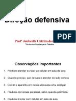 1 direção defensiva