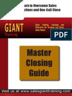 Master Sales Closing Guide