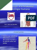 Introducción Anatomía-Fisiología 2010-2.
