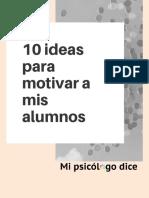 10 Ideas Para Motivar a Mis Alumnos 1