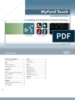 Ford SYNC With MyFord Touch Handbook