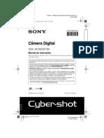 Sony Dscw190_pt Manual