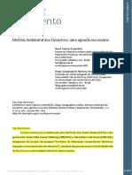 História e meio ambiente - Aula 8 - Texto 13a - Seminário 3 - História ambiental dos desastres - Espindola e Guimarães