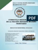 Curriculo Regionalizado Mojeño Trinitario (1)