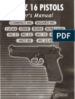 Girsan Yavuz 16 Users Manual