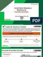 SERFOR 2019 Alerta y Monitoreo de Incendios Forestales