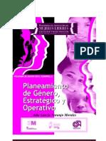 Planeamiento de Género Estratégico y Operativo