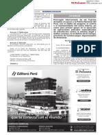 Gobierno prorroga intervención de FF. AA. en apoyo de la PNP en El Cenepa