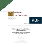 Historia contemporánea en los libros de historia chilena