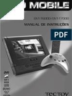 Manual DVD TecToy T6000 - T7000