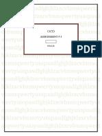 KHALID OCD 3RD ASSIGNMENT