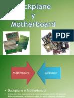 backplane y motherboard