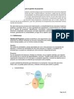 1.1. Conceptos Básicos Para La Gestión de Proyectos