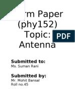 1 phy anteeena
