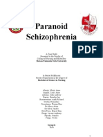 Paranoid Schizophrenia - Case Study