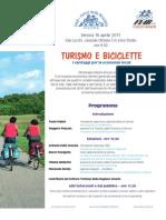 TURISMO E BICICLETTE.I vantaggi per le economie locali (FIAB Verona 2011)