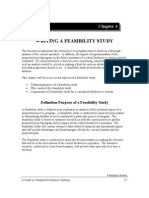 WRITING A FEASIBILITY STUDY