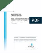 WA 2011 Linking Study Final