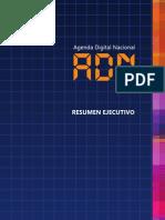 Agenda Digital Nacional ejecutivo