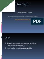 Urea Manufacturing process