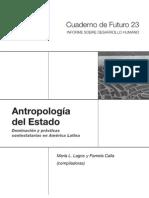Antropologia del Estado - libro