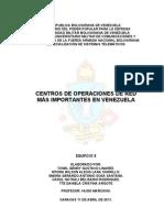 trabajo centros de operaciones de red mas importantes en venezuela