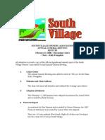 2008 AGM Minutes