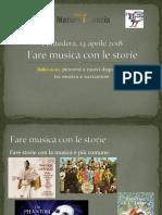 Frasca Presentazione Fare Musica Con Le Storie