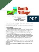 Mar '08 SVMC Minutes