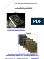 Islam Literature Internet Reference