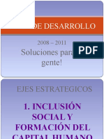 diapositivas plan de desarrollo