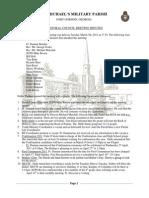 Parish Council Meeting Minutes March 2011
