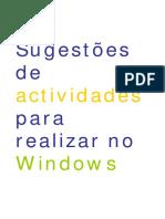 Actividades Windows