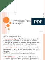 2017-HISTORIQUE de la SANTE PUBLIQUE-V1