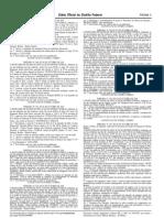 Portaria Publicada DODF 189 , 03-10-2018