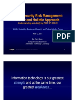 Cyber Risk Management 800-39- Dr Ron Ross WebEX 04-12-2011[1]