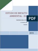 EIA Volume I - Fazenda Bela Vista Final