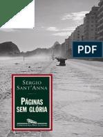 Paginas sem Gloria - Sergio SantAnna
