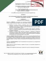 Ley Movilidad Urbana 1216